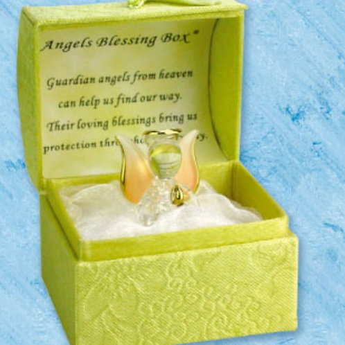 Angels Blessings (Yellow) - Blessings Box