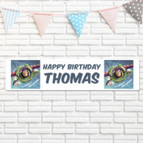 Buzz Lightyear Banner - Name
