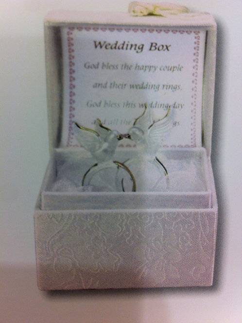 Little Wedding Box Rings