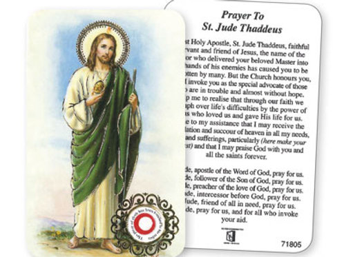 Saint Jude  - Prayer Leaflet