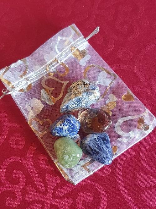 Meditation Gemstone Healing Pack