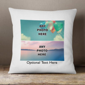 Velvet Cushion - Two Photos & Text