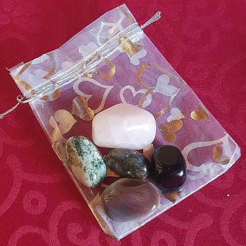 Positivity Gemstone Healing Pack
