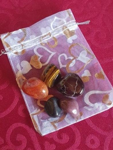 Root Chakra - Gemstone Healing Pack