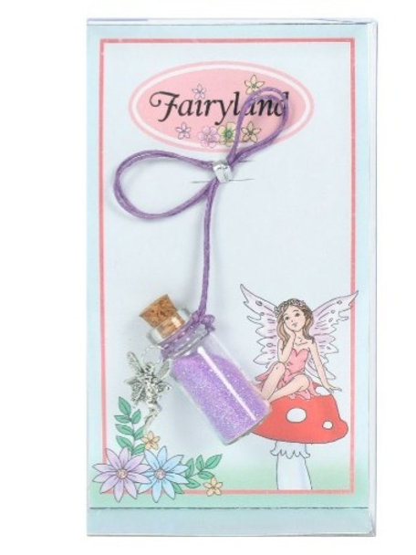 Fairy Dust Necklace - Purple