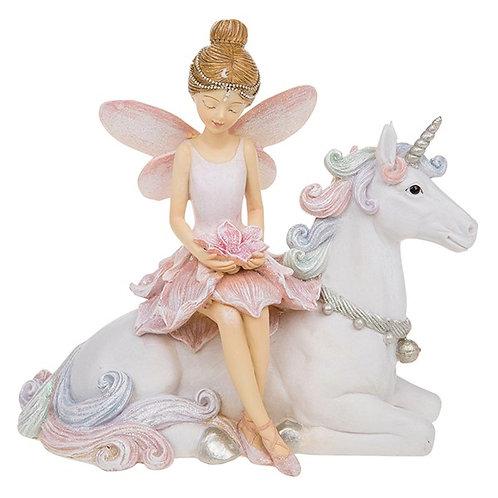 Flower Fairy on Unicorn