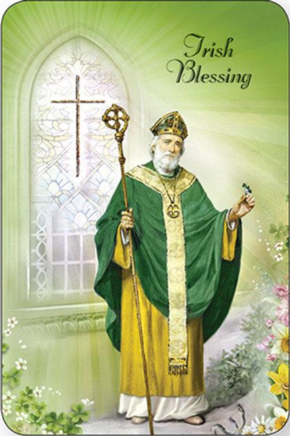 Saint Patrick - Irish Blessing - Prayer Leaflet