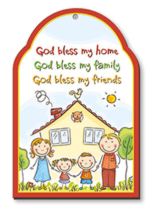 Bless my Home - Wood Plaque