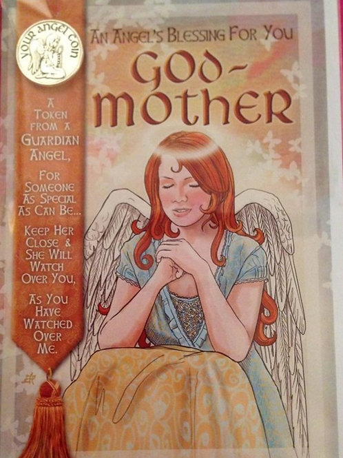 Godmother - Angel Coin Card