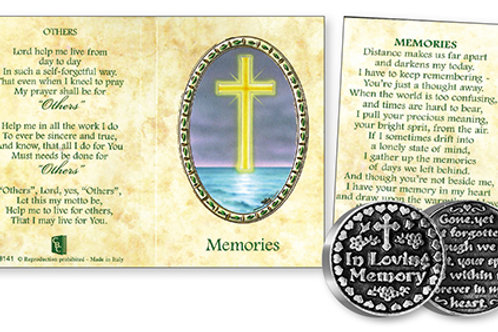 Memories - Prayer Coin & Booklet