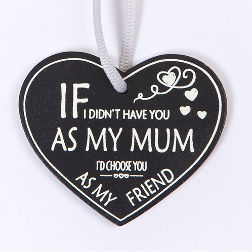 Choose you Mum wooden gift tag