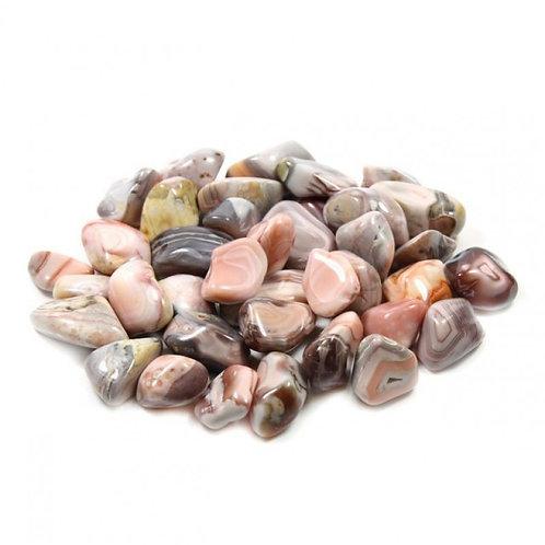 Botswanna Pink Agate - Tumblestone Crystal