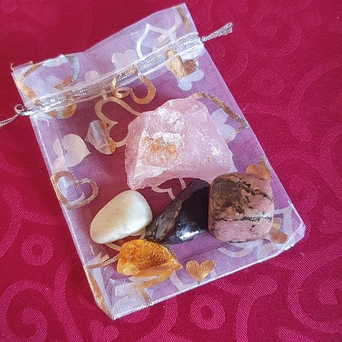 Self-Confidence Gemstone Healing Pack
