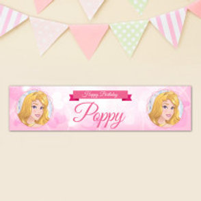 Sleeping Beauty Banner - Name