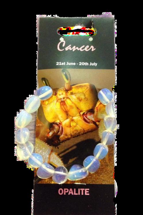Opalite Bracelet - Cancer Zodiac Sign