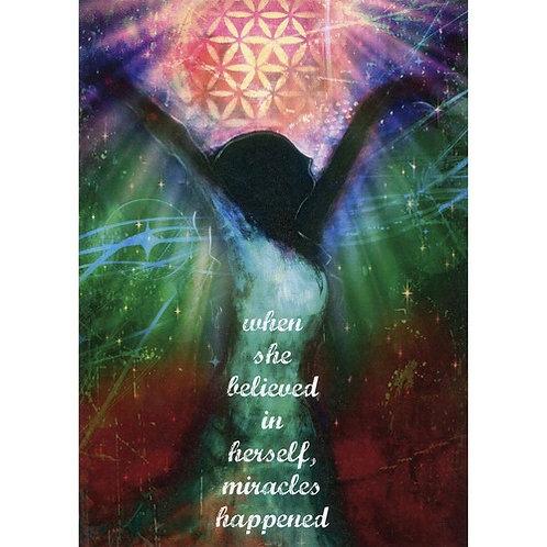Miracles Happen Card - Encouragement  Message