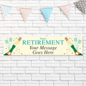 Retirement Banner - Text