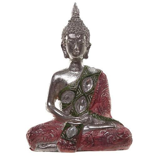 Metallic Thai Buddha – Lotus - Pink