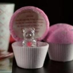 Mum - Cupcake Teddy (Pink)