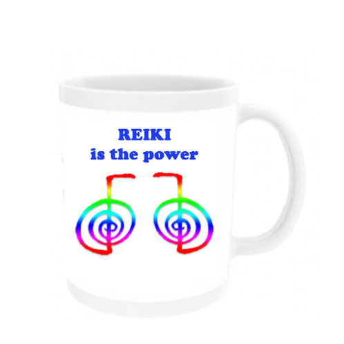 Reiki is the Power - Mug