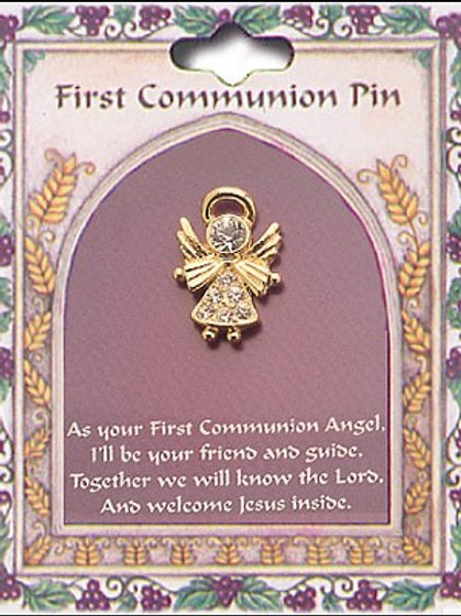 First Holy Communion Pin - Angel