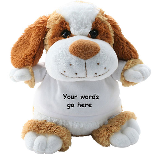 Personalised DogTeddy Text only