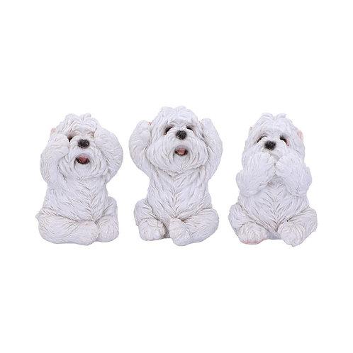 Three Wise Westies - Figurines