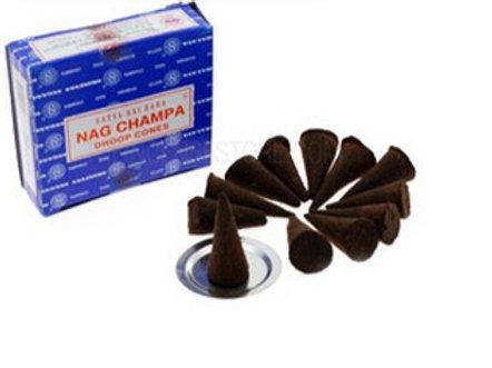 Nag Champa - Staya Incense Cones