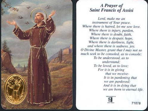 Prayer of Peace - Prayer Leaflet
