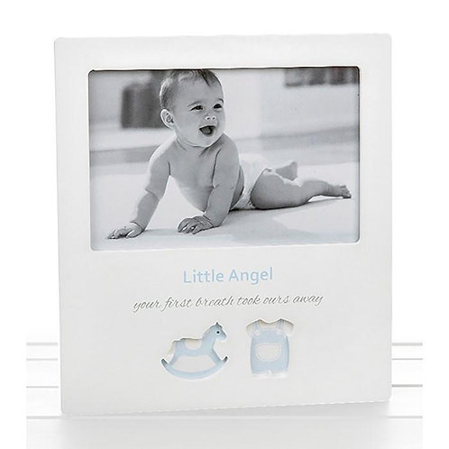 Little Angel - Boy cut Out Style Frame