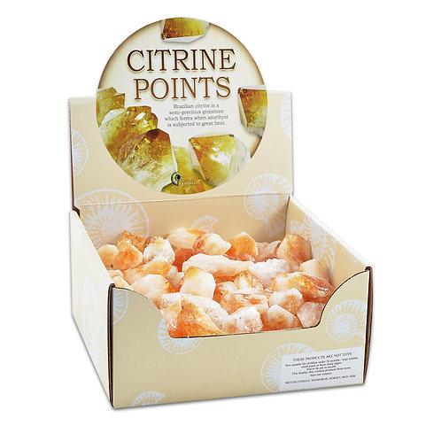 Citrine Crystal Point - Crystal