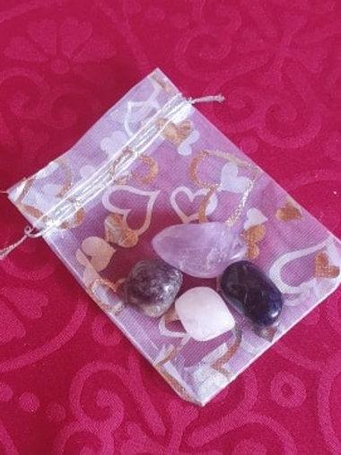 Crown Chakra - Gemstone Healing Pack