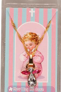 Praying Girl Necklace