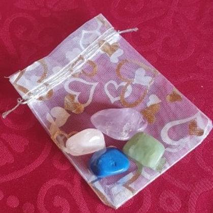 Anger Help - Gemstone Healing Pack