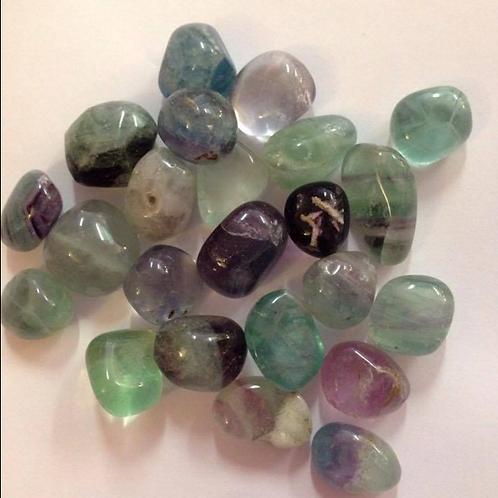 Flourite - Tumblestone Crystal