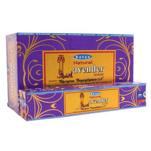 Natural Lavender - Satya Incense Sticks