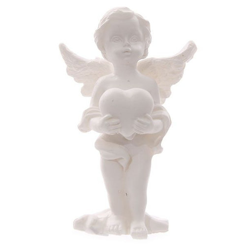 Heart Cherub Figurine - Standing
