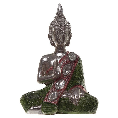 Metallic Thai Buddha – Lotus - Green