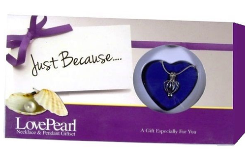 Just Because  Wish pearl necklace
