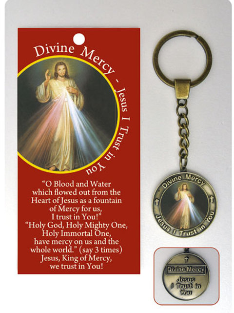 Divine Mercy - Keyring and Wallet