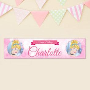 Cinderella Banner - Name