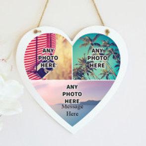 Hanging Heart - Three Photos