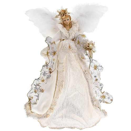 Christmas Angel Tree Topper (Light up) - Gold