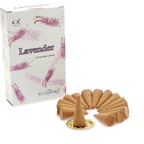 Lavender - Stamford Incense Cones