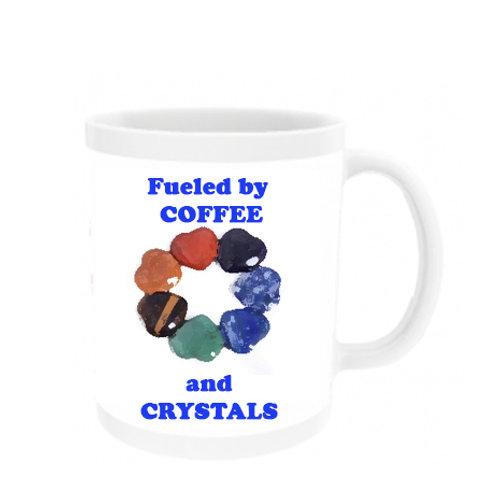 Fueled by Coffee & Crystals Mug