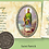 Thumbnail: Token Irish Blessing Coin in Inspirational Wallet