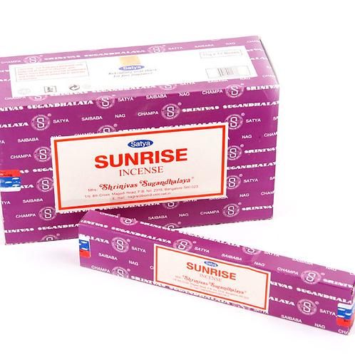 Sunrise - Satya Incense Sticks