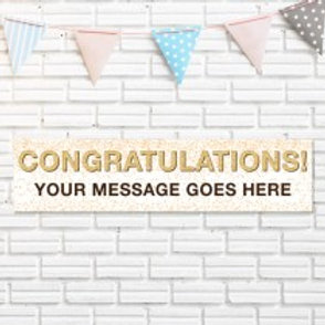Congratulations Banner - Text