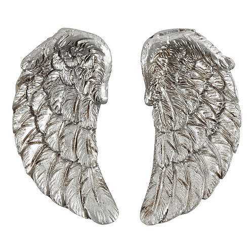 Antique Silver Angel Wing Magnet