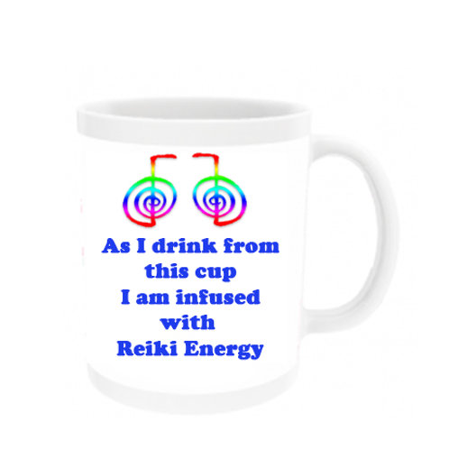 As I drink from this cup - Reiki Mug